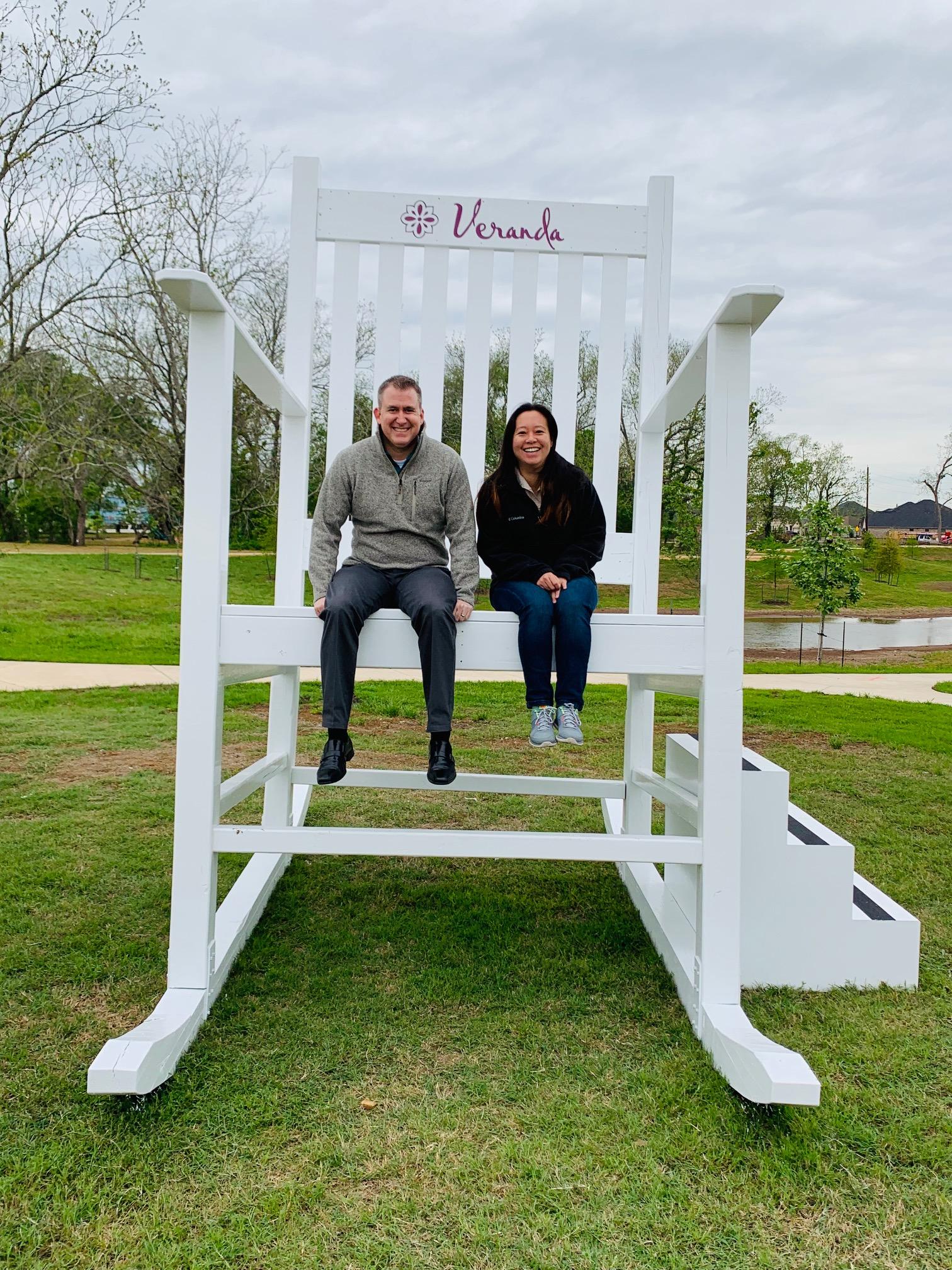 Giant Rocking Chair in Richmond, TX