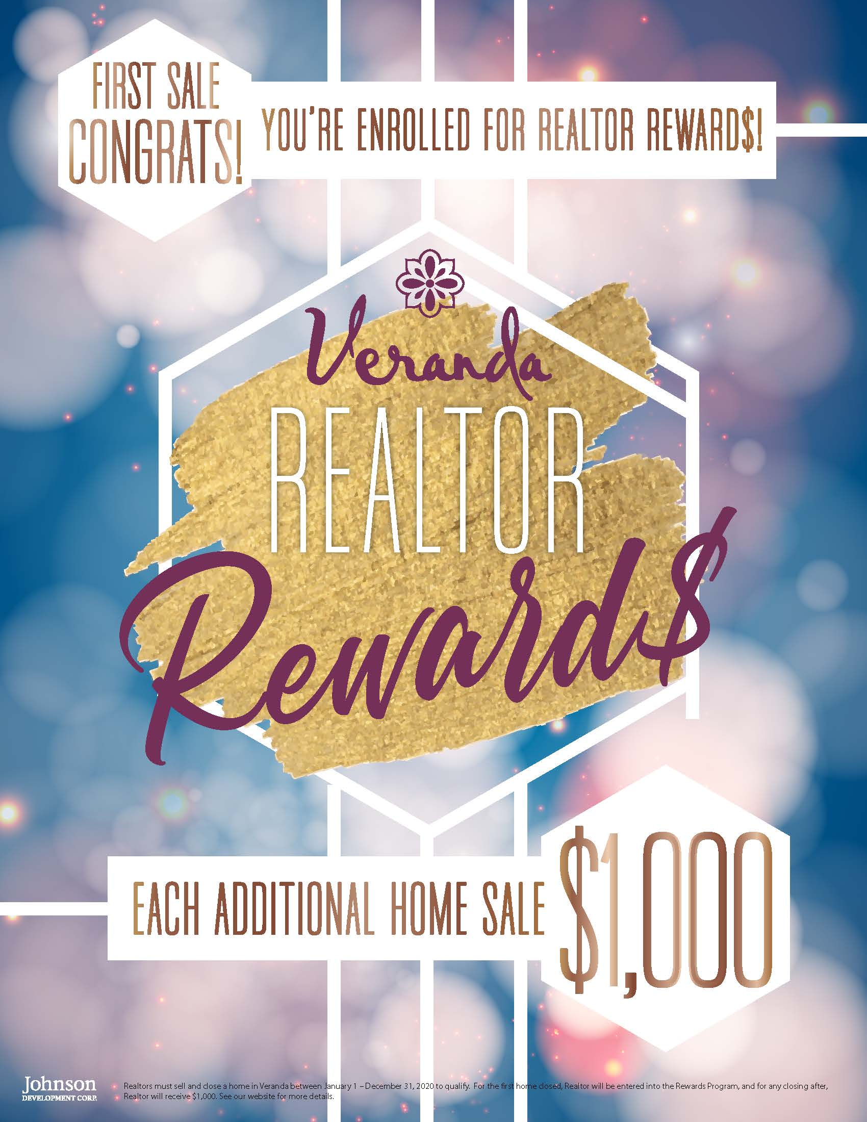 Veranda Realtor Reward$